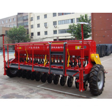 Tractor mounted 24 lines no tillage heat planter