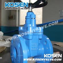 Válvulas de compuerta asentadas resistentes de hierro fundido