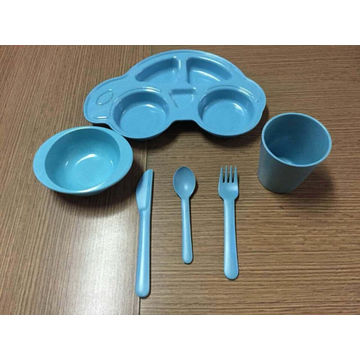 (BC-CS1070) Bamboo Fiber Tableware Set for Kids