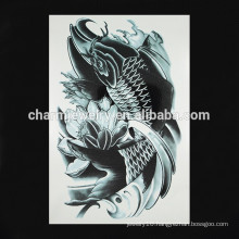 OEM wholesale fish arm tattoo new design arm tattoo fashion fake ink arm tattoo W-1094