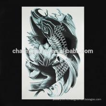 OEM оптовой рыбы рука татуировка новый дизайн рука татуировка моды поддельные чернила руку татуировки W-1094