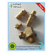 CNC Machining with Brass Material for Vlave
