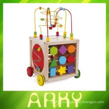 Jouets de bureau en bois pour les salles d'enfants