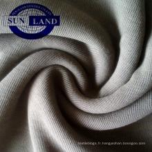 valeur principale de coton CVC 1 * 1 côte pour accessoires de vêtement