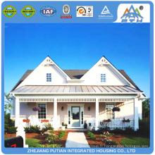 PTH à faible coût facile à installer structure en acier maison préfabriquée