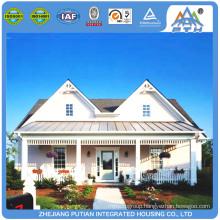 PTH low cost easy to install steel structure prefabricated house