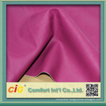0.4~0.7mm PU Leatherette Garment Use PU Synthetic Leather Fabric