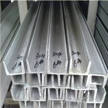 AISI ASTM DIN En etc 304 Stainless Steel Channel Bar