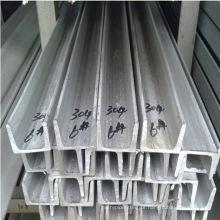 AISI ASTM DIN En 304 barra de canal de aço inoxidável