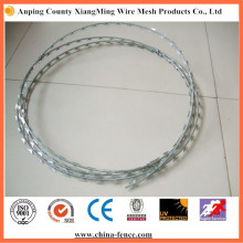 Galvanized Metal Razor Barbed Wire Hot Sale