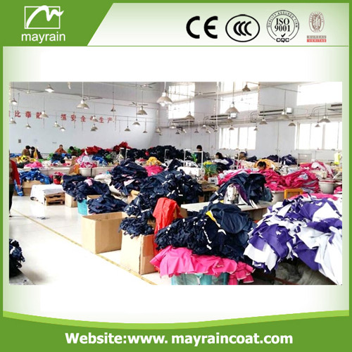 High Grade PU Fabric Raincoat