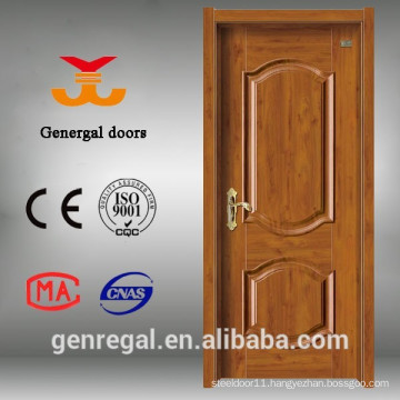 Classic free paint housing melamine molded wood door