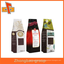 Guangzhou factory new hot products kraft paper stand up custom coffee bags with over ten years export experience