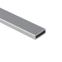 Perfiles de aluminio Forma ovalada / Extrusión de aluminio Tubo ovalado Aluminio anodizado