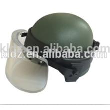 Good quality excellent Army Kevlar bulletproof helmet with Bulletproof Visor