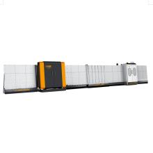 Linha de processamento de vidro isolante vertical automática