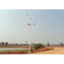 Easy to install and easy to use wind and solar hybrid LED light 60w