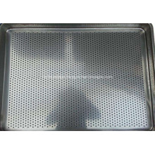 Food oven tray - all stainless steel tray - a molding pressed