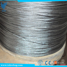 316 ISO Certification 16 mm 7x19 stainless steel wire rope
