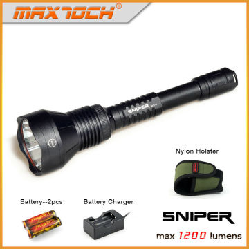 Maxtoch SNIPER XML2 U2 LED High Power Police Security Flashlight