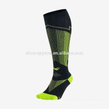 Chaussettes de course en gros de haute qualité pour hommes Chaussettes de sport