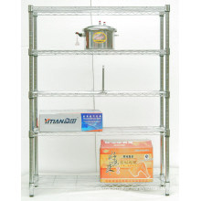 Adjustable Chrome Wire Racking for Hotel Kitchen