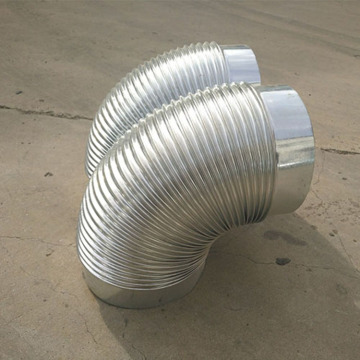 Pipe Spiral Pipe Duct Elbow For Ventilation