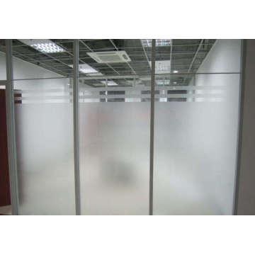 Providing Büro-Glastrennwand, Glasregale, Farbglas