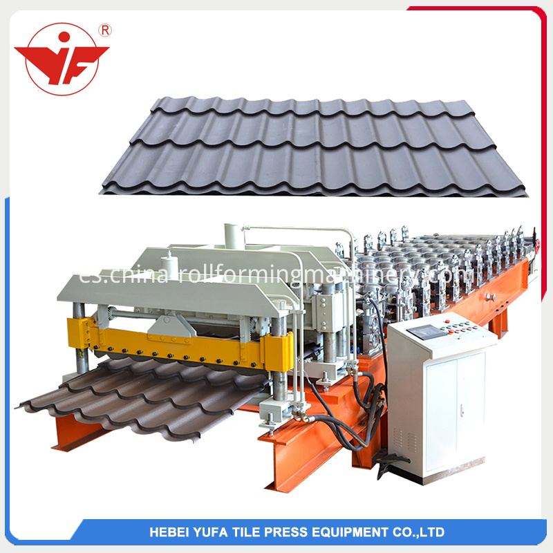Glazed Roof Tiles Roll Forming Machine Suppliers5