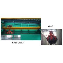 Double Beam Grab Overhead Traveling Crane