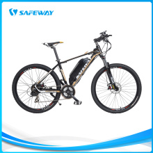 Suspension lockout aluninum fork mountain electric bike