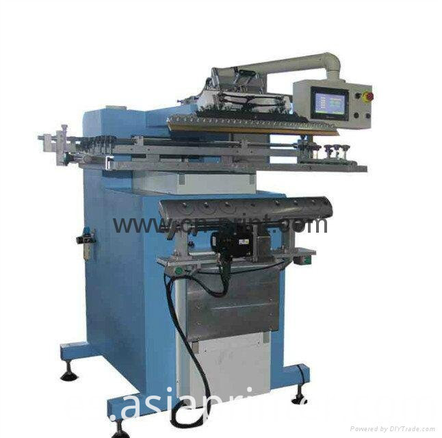 Fish Pole Screen Printing Machine