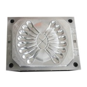 Multi-cavity small plastic spoon injection mould