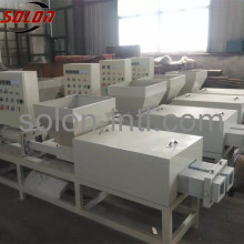 Sawdust recycling pallet leg pressure machinery