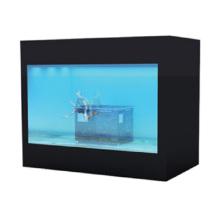 Exposição transparente do LCD do armário 26inch preto