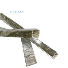 DEEM High quality reflective Fiberglass Sleeve Coated With Aluminum Foil