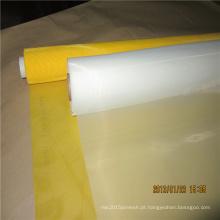 Malha da tela de malha do monograma do monofilamento de 160 mícrons malha da tela de malha do monograma do nylon de 100%