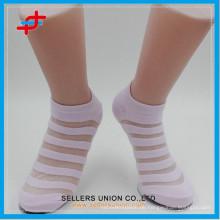 Damen Baumwollkristall kühle kundenspezifische Socken
