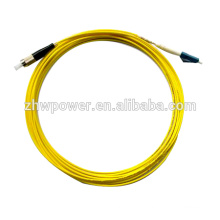 Livraison gratuite Fibre optique Patch Cord 50/125 LC / FC UPC Singlemode 3mm 15 mètres