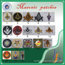 Wholesale Custom Embroidered Masonic Patches