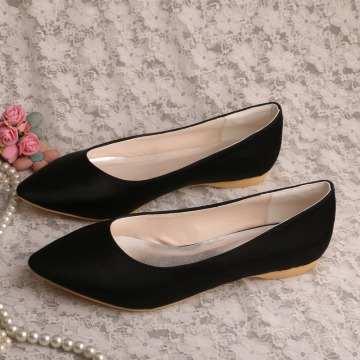 Bridal Flats Ivory Pointed Toee
