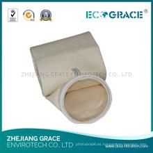 Bolsa de filtro de polvo PPS de tela de aire de espesor de 1.60 mm