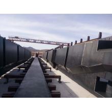 Molde de feixe pré-fabricado de concreto Q235 T