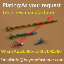 Tek Screw Dacromet Xylan Coating