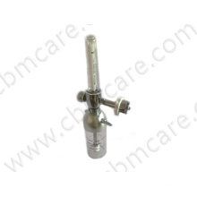 Wall-Type Galvanized Aluminum O2 Flowmeter with High-Quality Humidifiers for Medical Bead Head Units