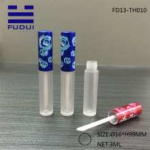Mini Plastic LipGloss Tube Dull Polish Bottle