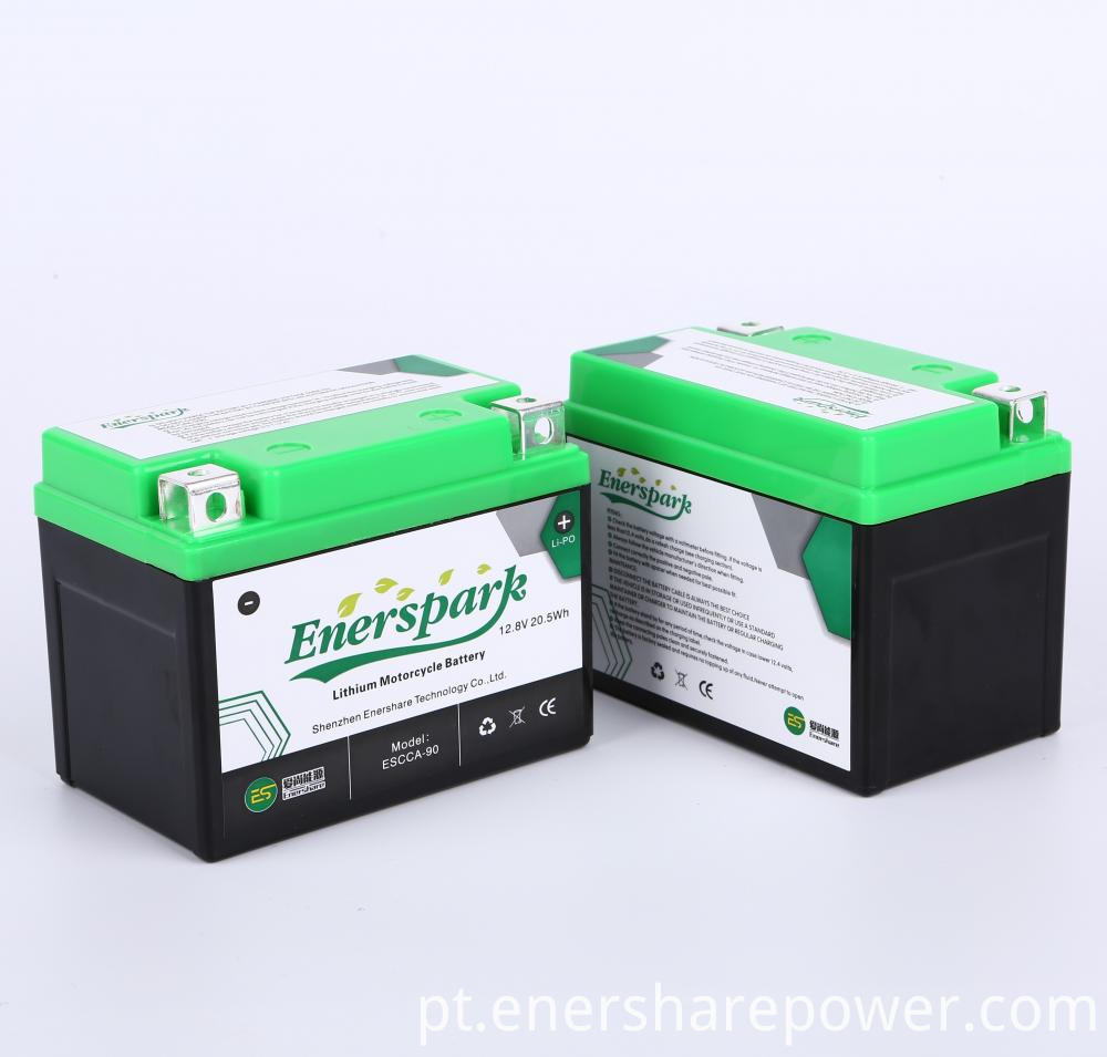 Motorcycle Start Battery 12.8V 20.5Wh