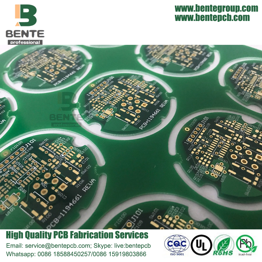6-layers Multilayer PCB 1oz Copper PCB Factory