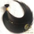 Black real remy cuticle human bulk hair
