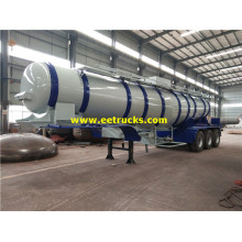 20000 Liters Tri-axle H2SO4 Transport tanker Trailers